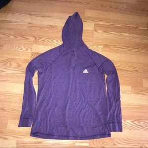 Adidas Long Sleeve with Hood